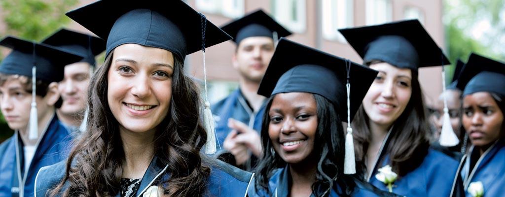 Jacobs University Students Graduation