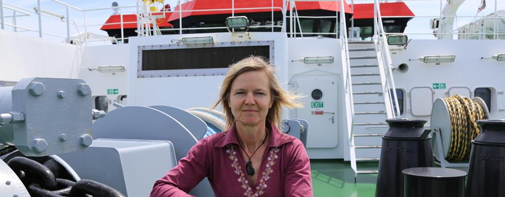 Andrea Koschinsky, Professorin für Geochemie an der Jacobs University, leitet die interdisziplinäre Forschungsfahrt an die Amazonas-Mündung