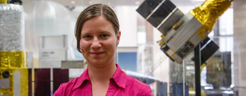 Astrophysicist Aurora Simionescu