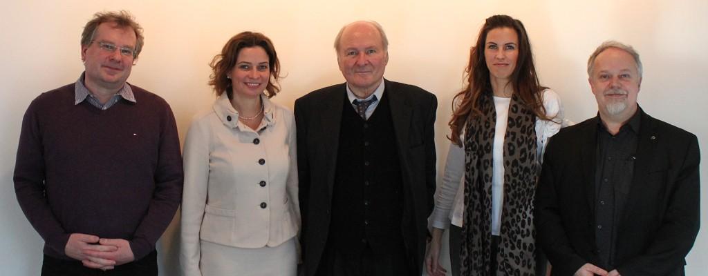 Prof. Dr. Claus Hipp bei seinem Besuch an der Jacobs University