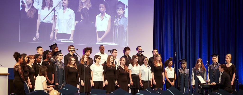 J-Cappella, the international choir of Jacobs University Bremen
